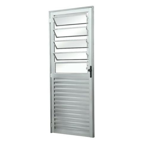 Porta social, paleta ou basculante 2,10x0,80 brilhante l25