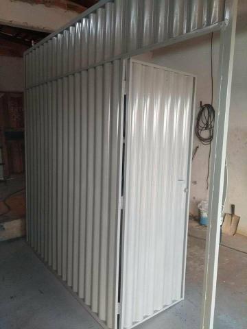 Portões galvanizado chapa lambril