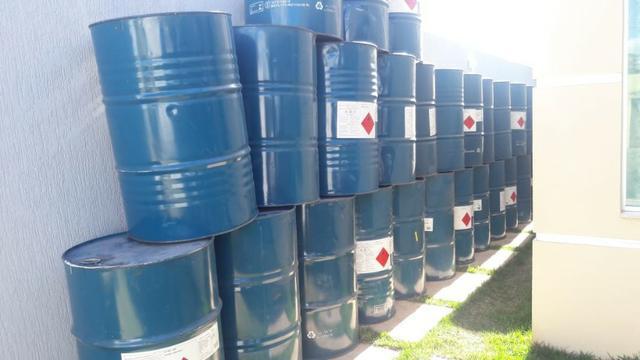 Tambor tonel latao lixeira