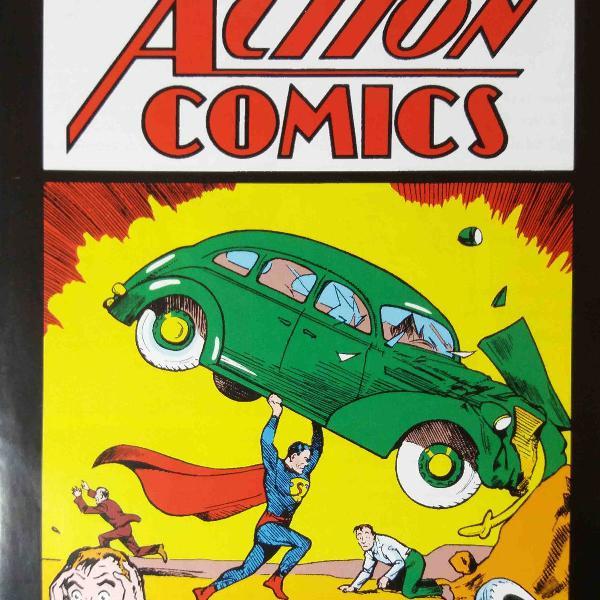 Action comics nº 1 - fac símile raro