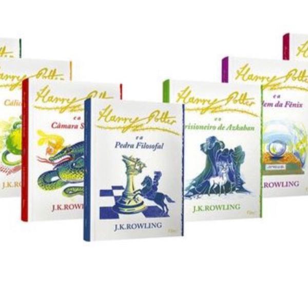 Coleção completa livros harry potter