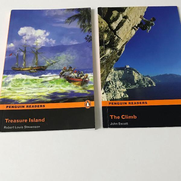 Conjunto com 2 livros em inglês