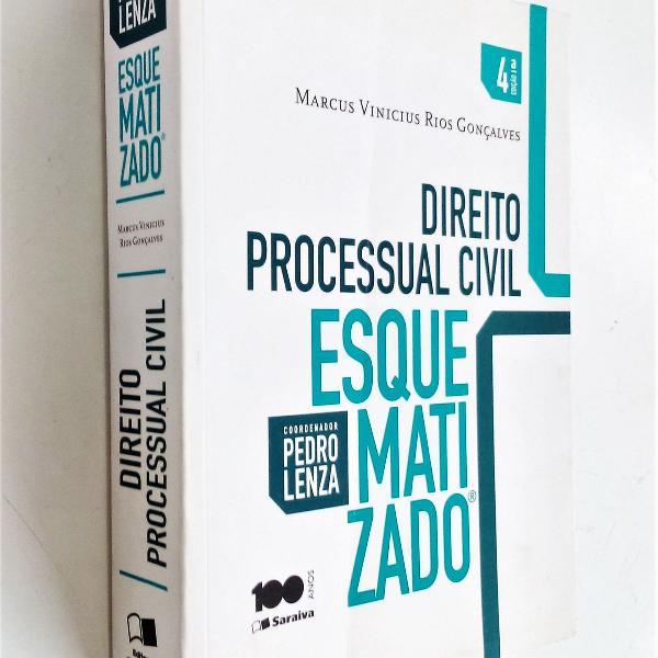 Direito processual civil esquematizado - 4ª edição -