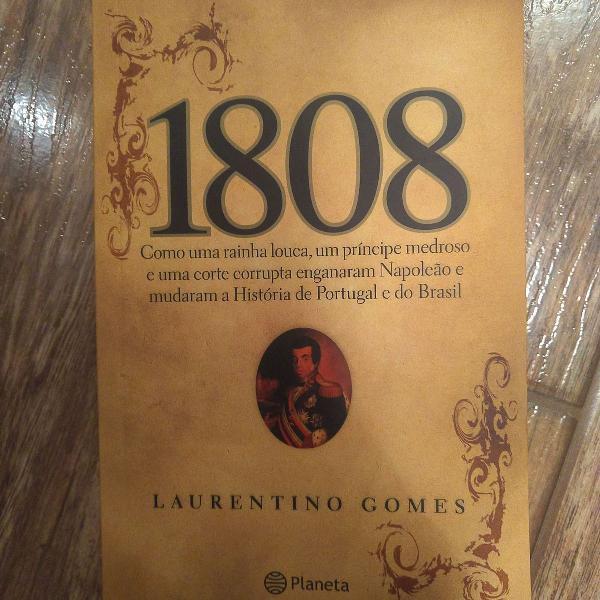 Livro 1808 editora planeta