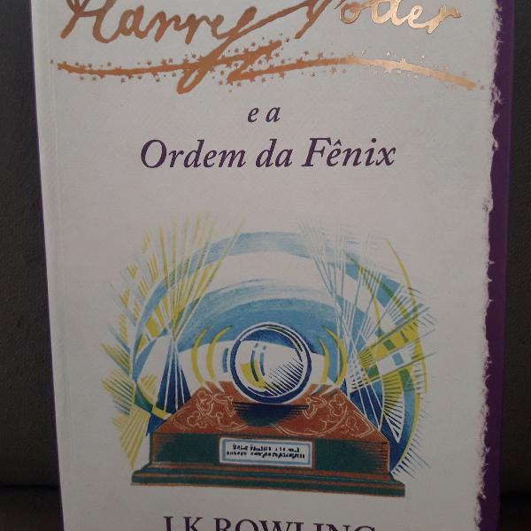 Livro harry potter e a ordem da fênix