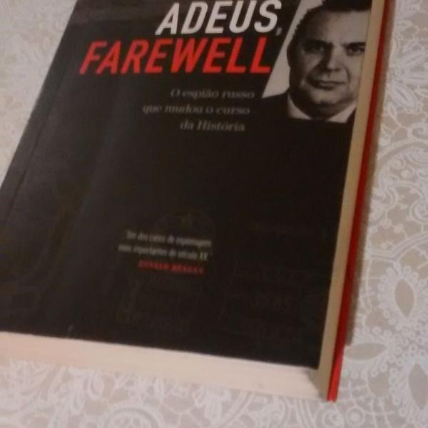 Livro adeus farewell