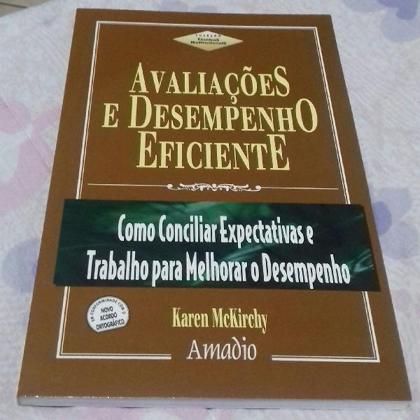 Livro avaliações e desempenho eficiente
