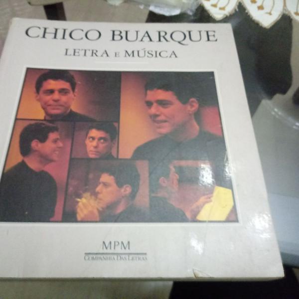 Livro chico buarque - letra e musica