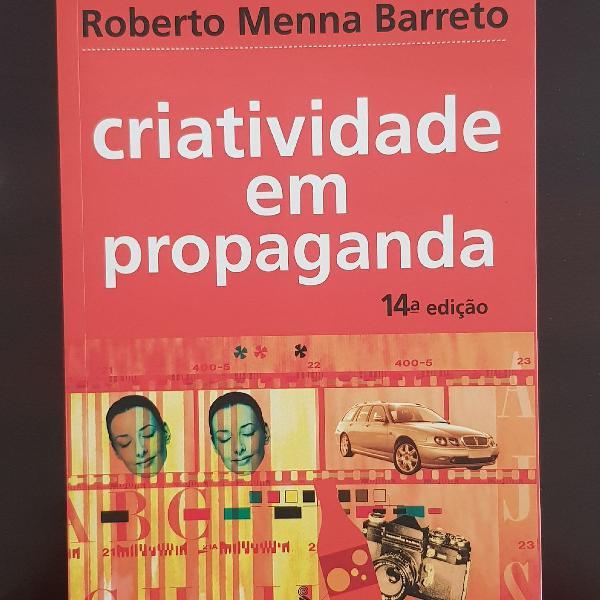 Livro criatividade em propaganda
