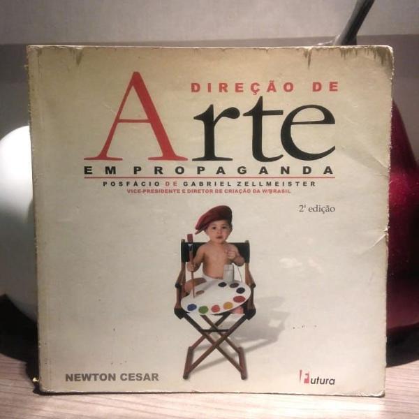 """Livro """"direção de arte em propaganda"""" - por newton cesar"""
