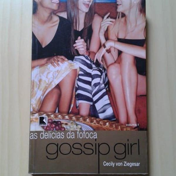 Livro gossip girl, as delícias da fofoca, volume 1