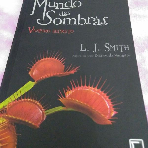 Livro mundo das sombras - vampiro secreto