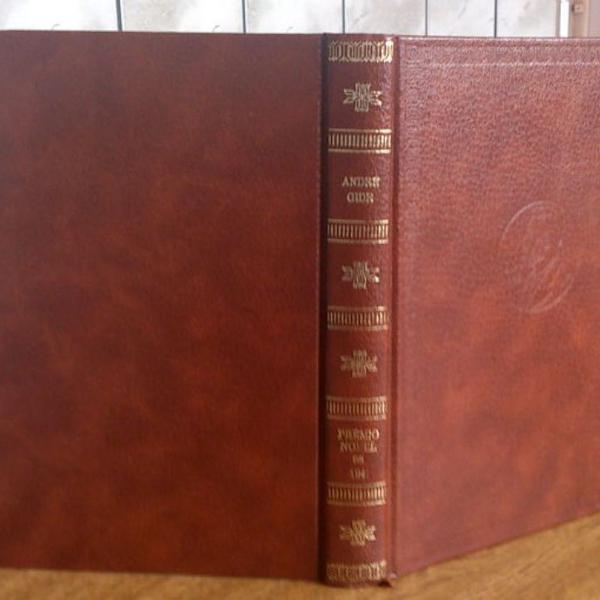 Livro o imoralista andré gide premio nobel de 1947