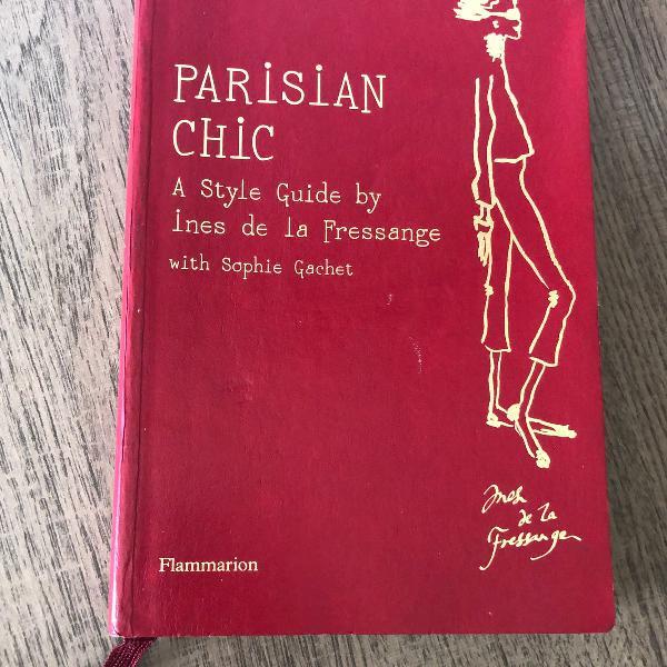 Livro parisian chic em inglês