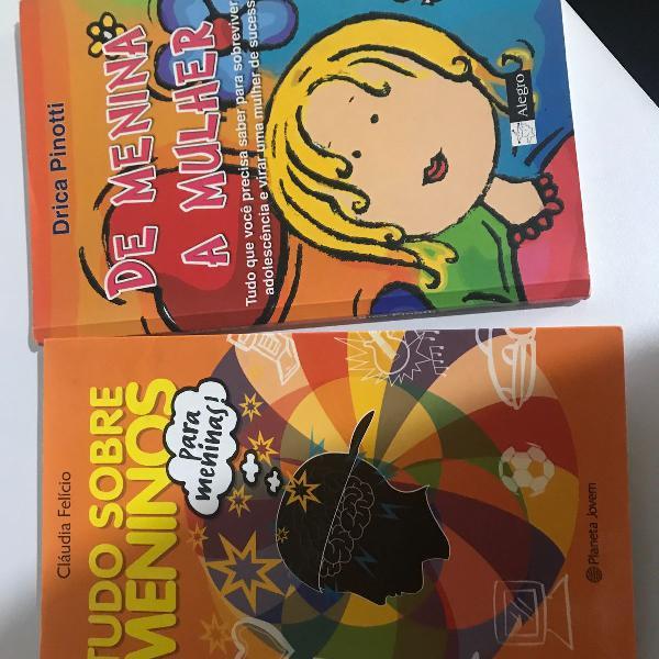 Livros infanto juvenil para meninas