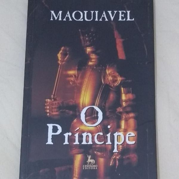 Maquiavel, nicolau. o príncipe.