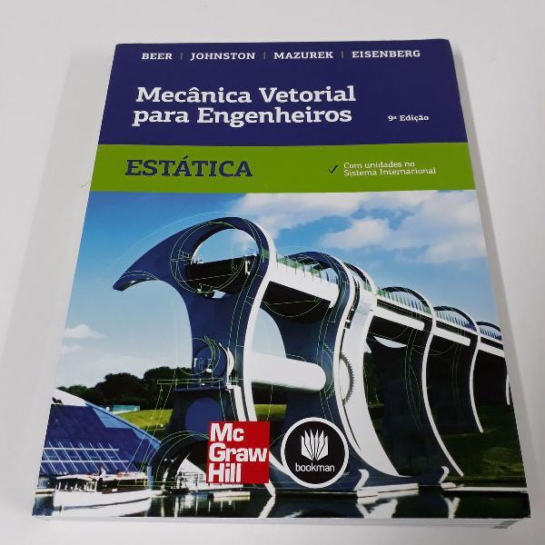 Mecânica vetorial para engenheiros - estática - 9ª