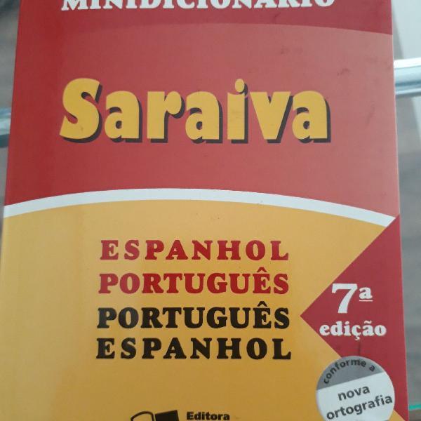 Minidicionario espanhol português