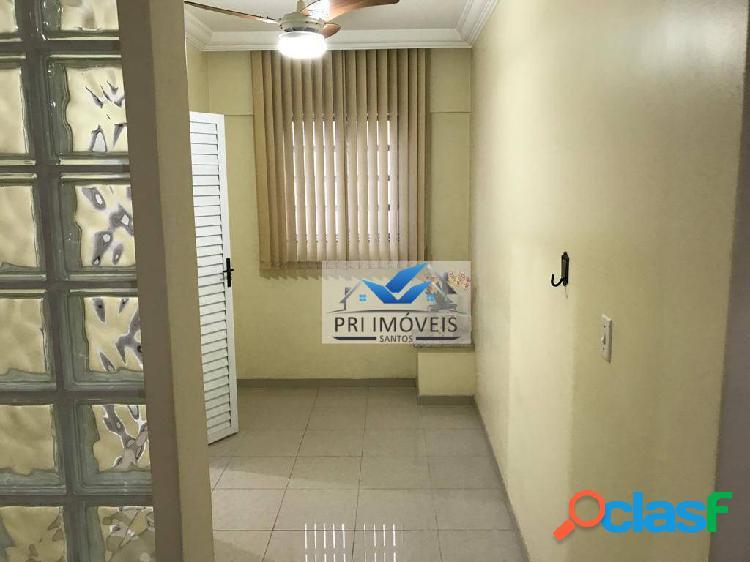 Apartamento à venda, 123 m² por r$ 840.000,00 - gonzaga - santos/sp