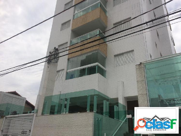Apartamento 1 quarto / praia grande / guilhermina / mobiliado