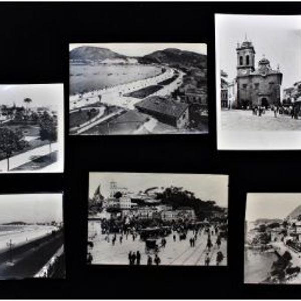 6 fotografias com imagens da cidade do rio de janeiro