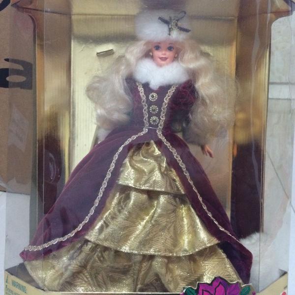 Barbie holiday edição de colecionador