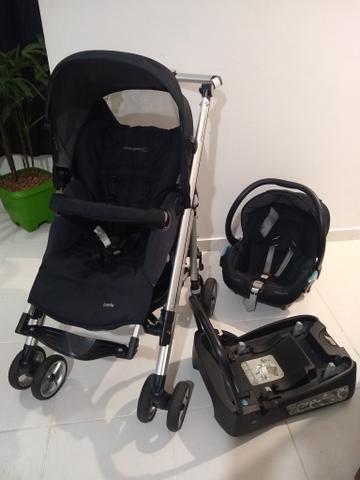 Carrinho e bebê conforto bébéconfort