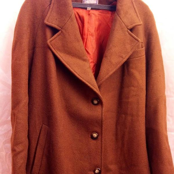 Casaco vintage marrom