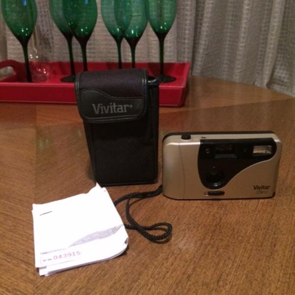 Câmera fotográfica vivitar t301