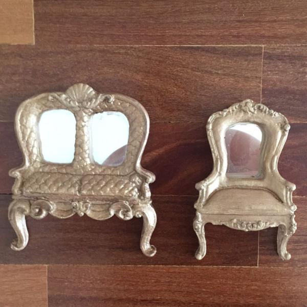Conjunto espelhos vintage