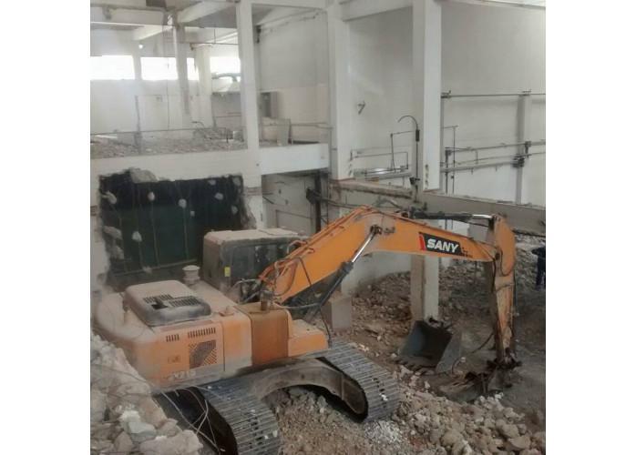 Demolição especializada