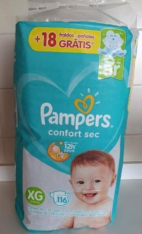 Fraldas Pampers confort 2pc 250,00