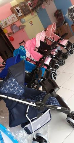 Garanta já a promocao carrinho de bebe novo 400$ a vista