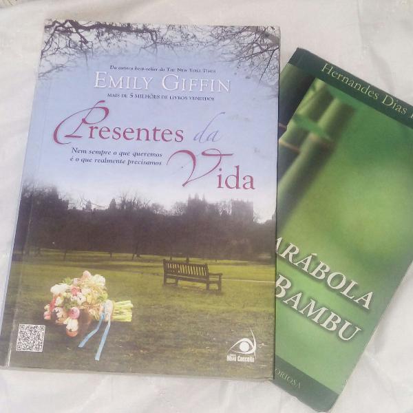Livro presentes da vida e brinde