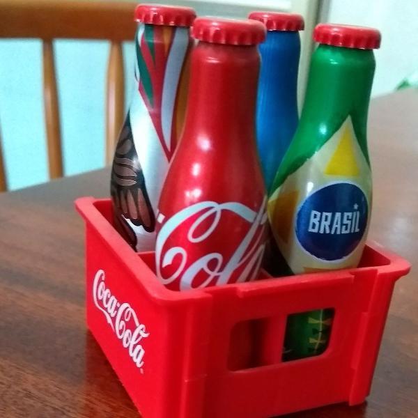 Mini caixa coca cola
