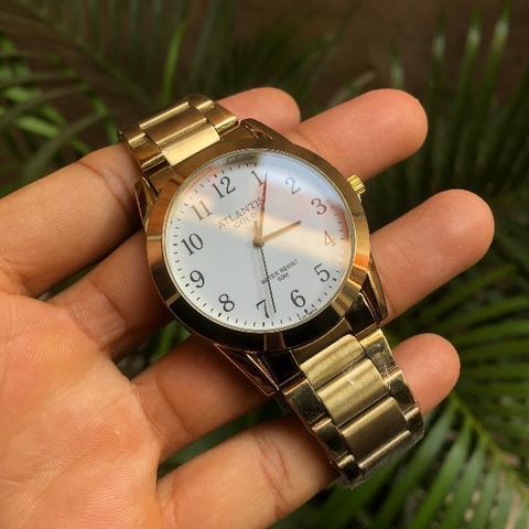 Relógio atlantis original a3257g novo