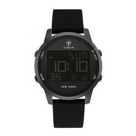Relógio masculino tuguir digital tg7003 preto
