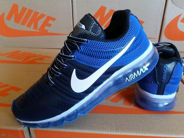 Tênis masculino nike - azul marinho/royal - entrega grátis