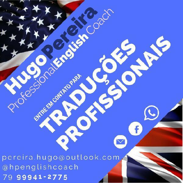 Tradução de inglês - português em aracaju