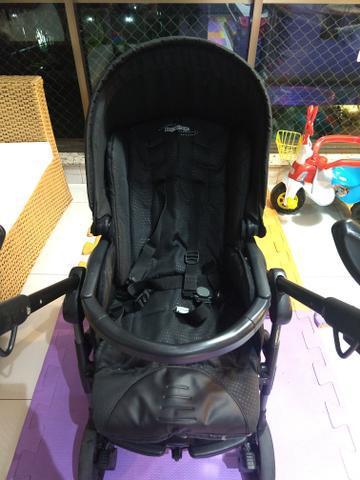 Vendo carrinho + bebê conforto peg pérego