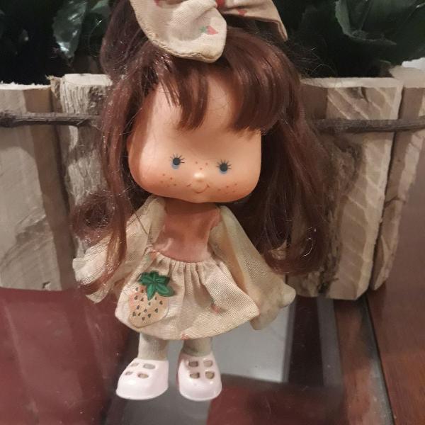 Boneca moranguinho original anos 80