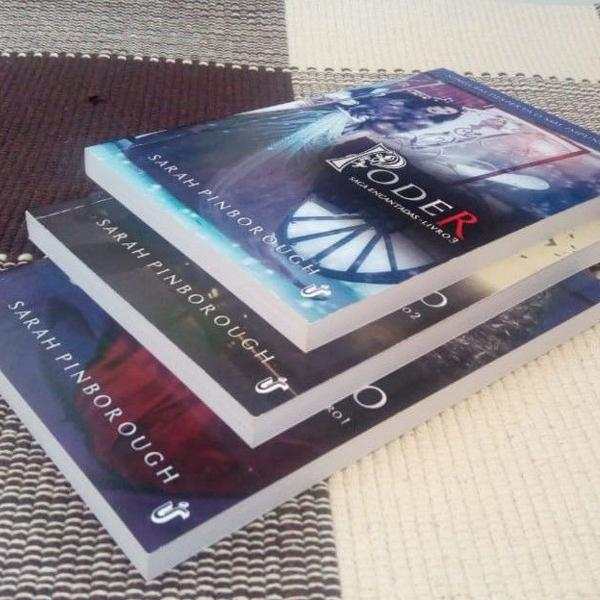 Box livros - saga encantadas