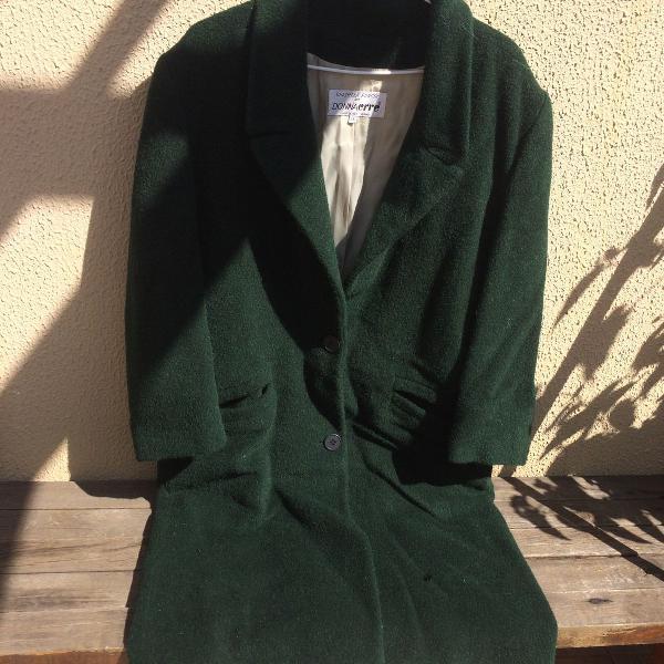 Casaco italiano verde escuro