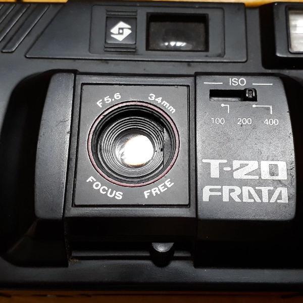 Câmera máquina fotográfica antiga