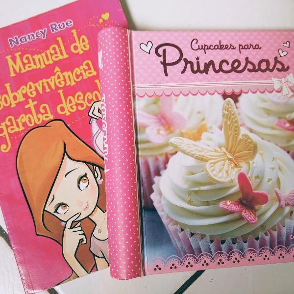 Combo dois livros para menina