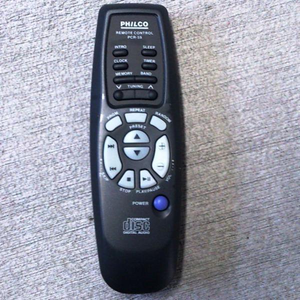 Controle remoto som philco pcr59 original