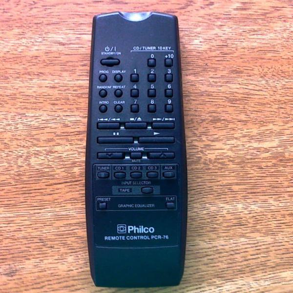 Controle remoto som philco pcr76 original