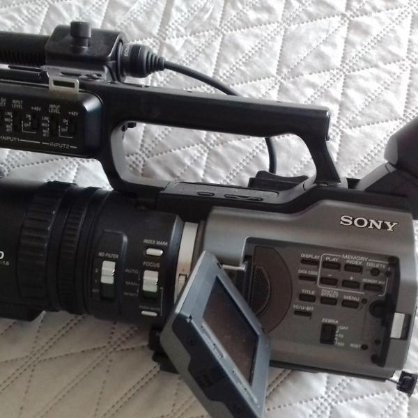 Filmadora profissional sony dvcam 3ccd