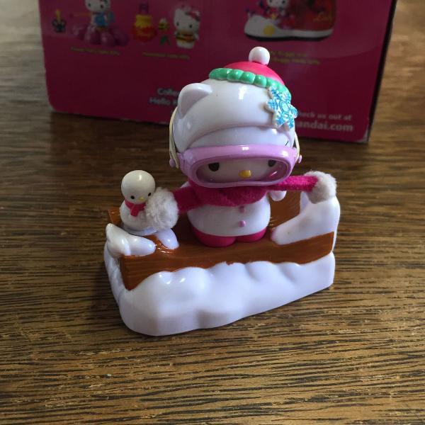 Hello kitty snowman set