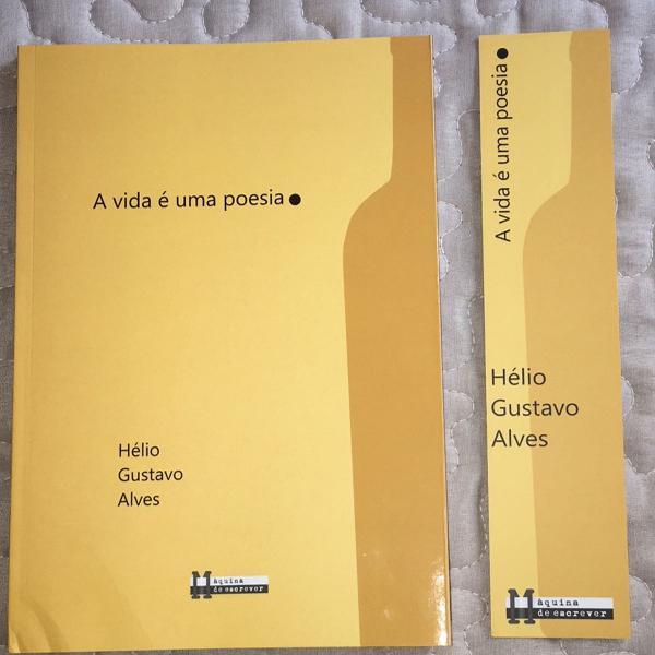 Livro a vida é uma poesia
